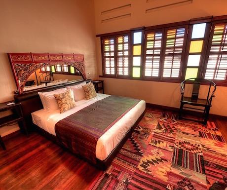 bedroom at Hotel Penaga