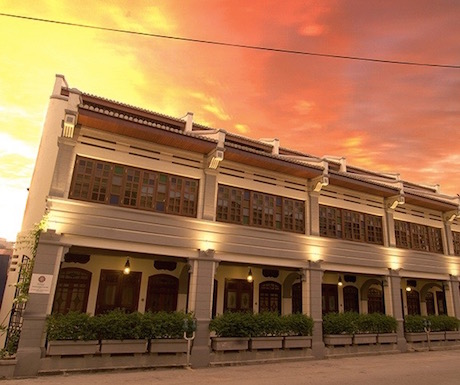 Hotel Penaga, Georgetown, Penang, heritage, travel, sunset
