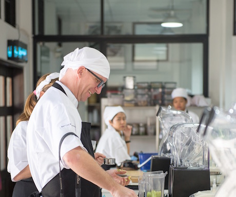 A chance to get creative in the kitchen at Matthew Kenney, Culinary Evason Hua Hin