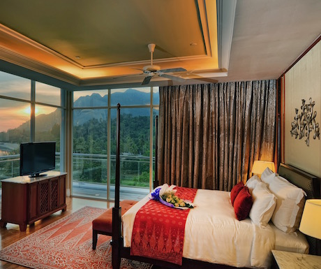 Viceroy King Seaview room at The Danna Langkawi