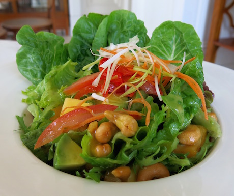 avocado and mango salad at The Danna Langkawi
