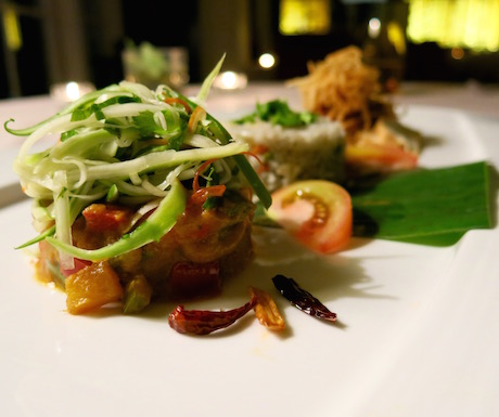 Delicious vegan dinners await you at The Danna Langkawi.