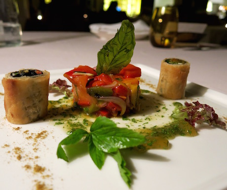 Creative, colourful and delicious vegan dinners at The Danna.