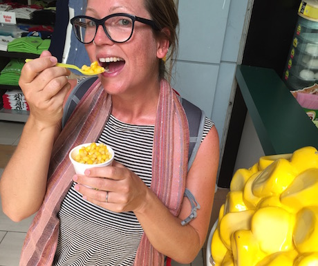 vegan sweetcorn in Langkawi