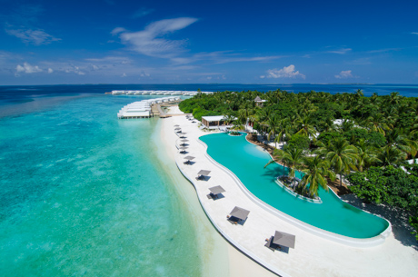 Drifting off into a paradise dreamworld was a regular occurrence at Amilla Fushi.