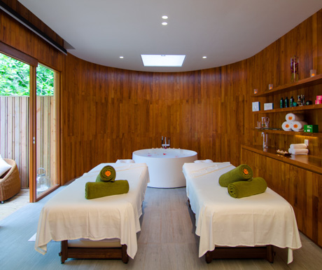 Amazing spa rooms where you'll get one of the best massages of your life.
