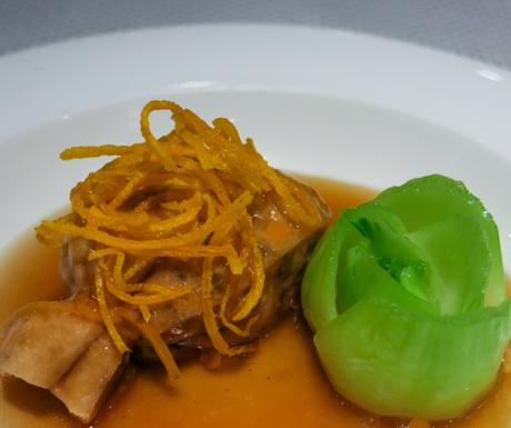 The award winning tofu dish at Hoi King Heen.