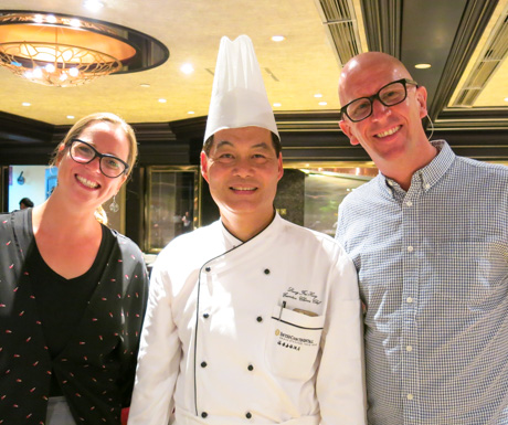 Celebrity Master Chef Leung Fai Hung brings over 30 years experience to the kitchen.