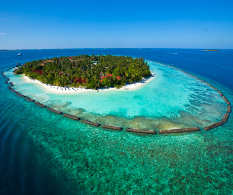 Kurumba Maldives from above
