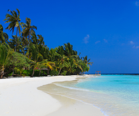 Beach life at Kurumba Maldives.