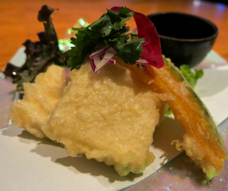 Crispy Tofu at NOBU InterContinental Hong Kong.