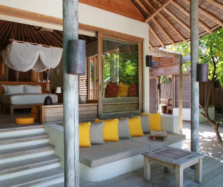 luxury villa at Six Senses Laamu