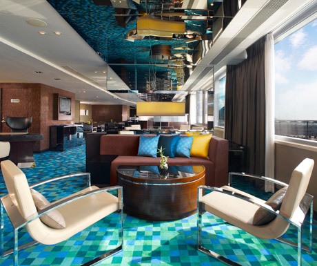 executive lounge at Hong Kong SkyCity Marriott