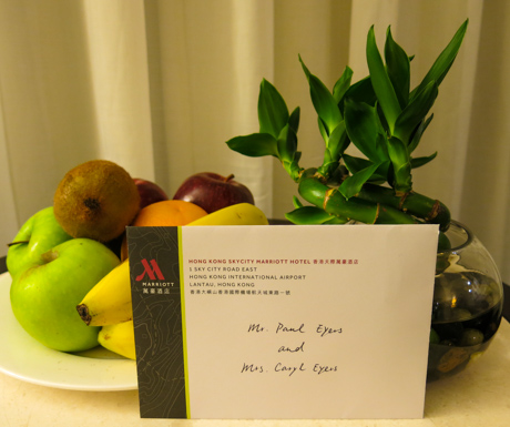 Welcome to the Hong Kong SkyCity Marriott Hotel!