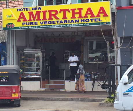 Amirthaa in Colombo