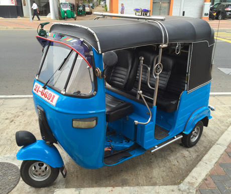 We have had good and bad experiences with tuk tuk drivers in Colombo so treat with caution...