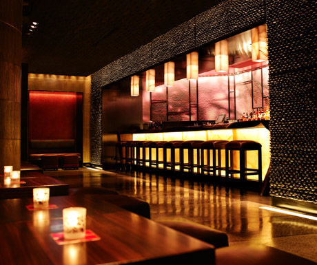 Bar at NOBU InterContinental Hong Kong