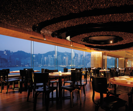 Dining Room at NOBU InterContinental Hong Kong