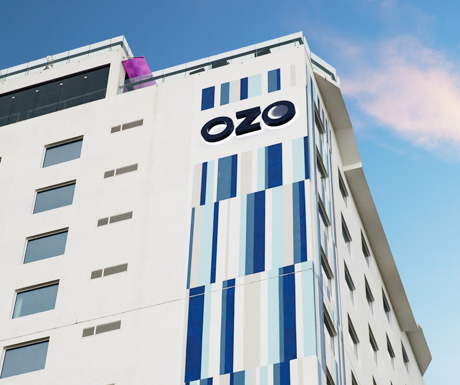 external view of OZO Colombo in Sri Lanka