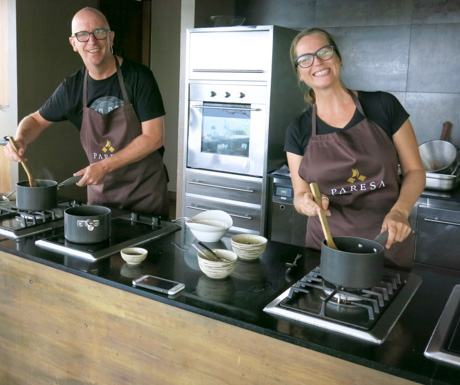 Thai vegan cooking school at Paresa Resort Phuket