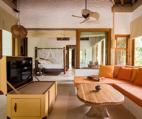 Family Villa Suite at Soneva Fushi.