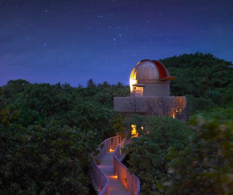 So Celestial observatory at Soneva Fushi