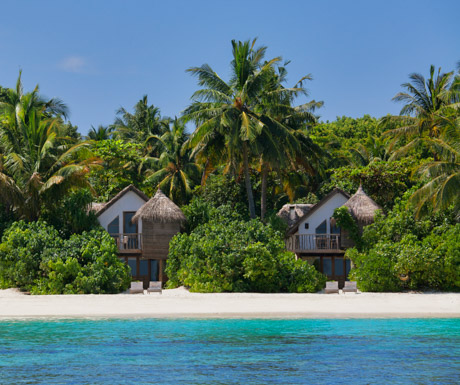 Every villa at Soneva Fushi has direct access to the Indian Ocean