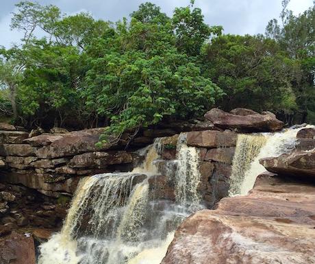 Natural beauty at the waterfalls...