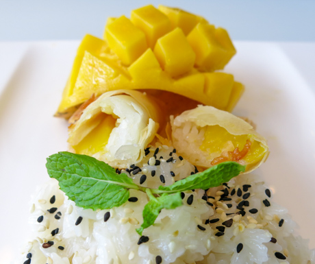The best ever mango sticky rice