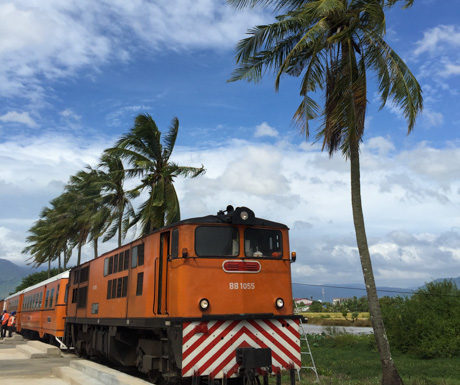Train travel in Cambodia is not to be missed...