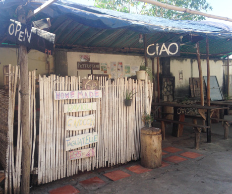 Laid back, rustic Italian food at Ciao in Kampot