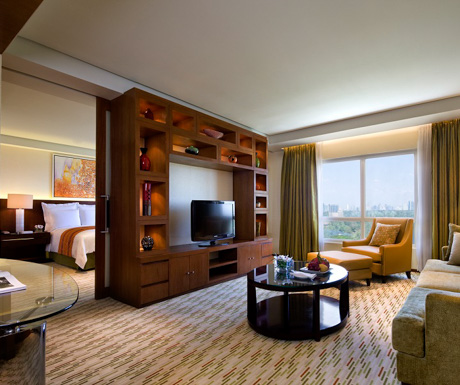 our executive Suite at Manila Marriott Hotel