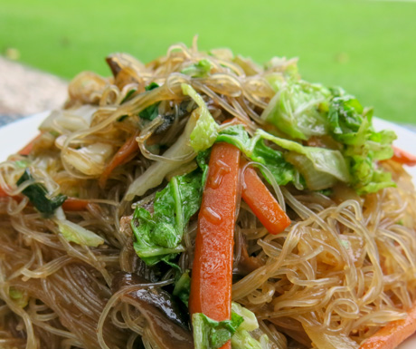 Stir fried vegetable noodles