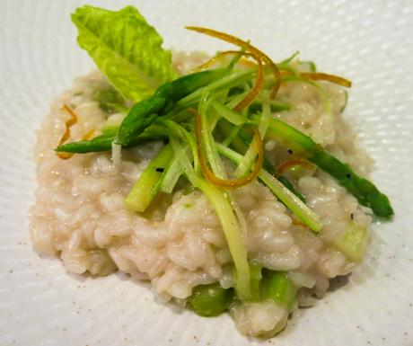 Vegan Guide to Cebu - Shangri La Mactan Resort & Spa Acqua vegan risotto