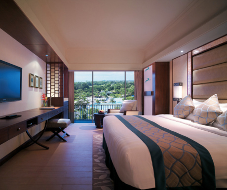 Ocean View Deluxe Room at Shangri-La Mactan Resort and Spa