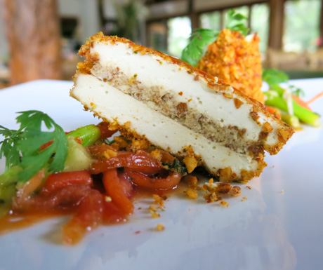vegan food from Alive! at The Farm at San Benito in Indonesia
