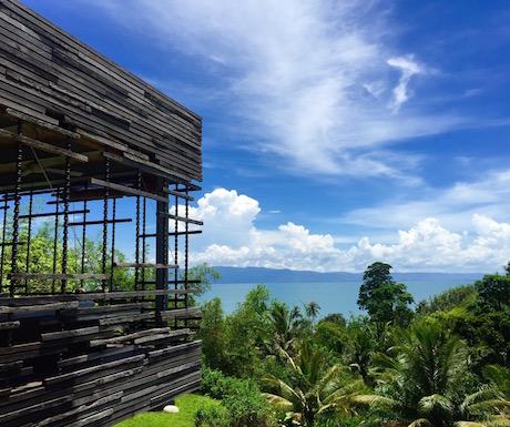 stunning Villa des Palmes in Kep