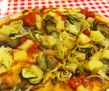 Vegan guide to the maldives vegan food quest vegan pizza in male forumfinder Image collections