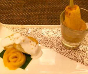 vegan dessert at Marriott Cebu