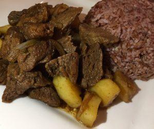 mock meat at Persian Palate