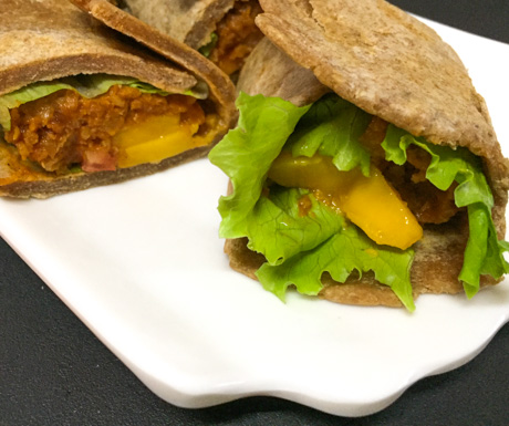 Vegan wrap in Cebu