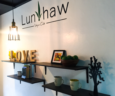 Lunhaw Vegan Cafe was our favourite option in Cebu