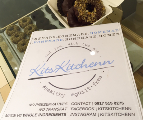 Kits Kitchenn for vegan donuts in Cebu
