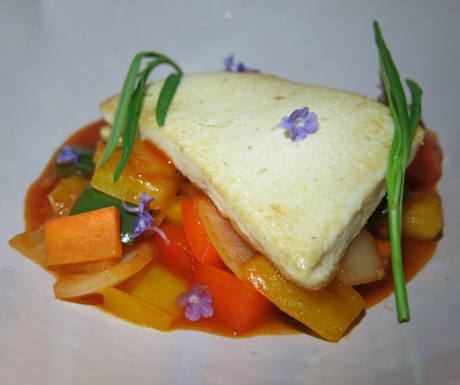sweet and sour tofu at Jaya House