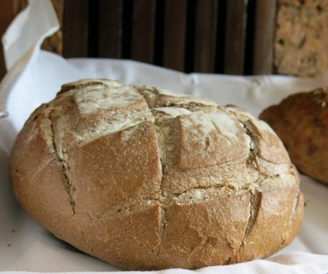 Freshly baked vegan bread at Jaya House River Park