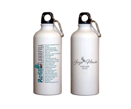 Refill not Landfill bottles at Jaya House River Park