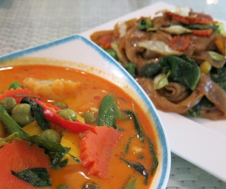 vegan red curry at Mercure Koh Chang Hideaway
