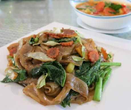 Vegan pad se ew at Mercure Koh Chang Hideaway
