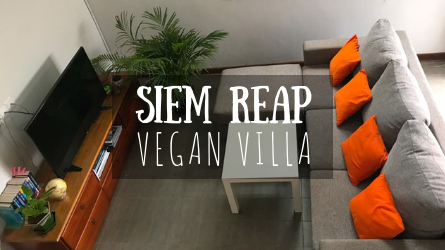 Siem Reap Vegan Villa Featured Image