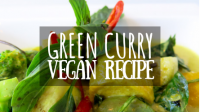 Vegan Green Curry Recipe featured image